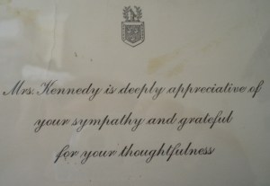 Letter From Jackie O