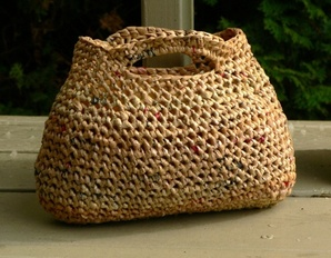 Recycled Grocery Bag Purse