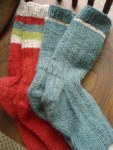 Two pairs of stash cleansing merino wool socks