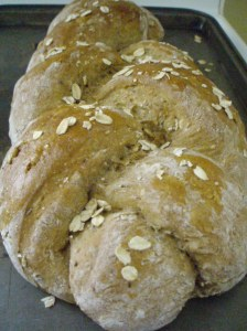 Multigrain braided bread