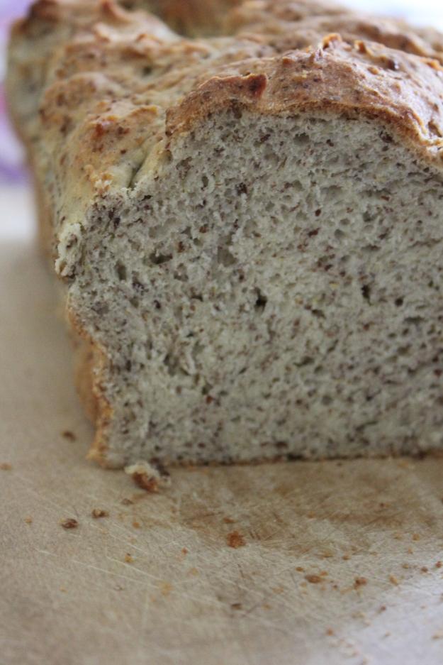 Flax Seed Gluten Free Bread
