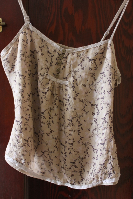 floral print camisole
